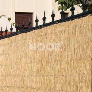 NOOR Bambusmatte Bambus Sichtschutz Zaun Balkon Bombay