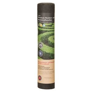NOOR Premium Heckenvlies dunkelgrau 0,5x25 m 90 g/m²