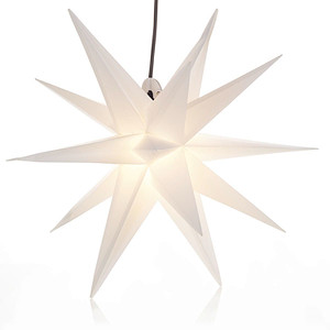 Outdoor-Leuchtstern Weiß Ø 50 cm