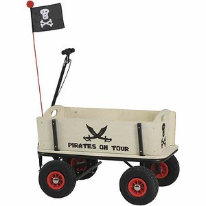 PINOLINO Bollerwagen Pirat Jack, mit Handbremse