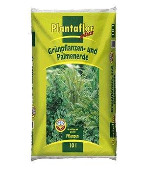 Plantaflor PLANTAFLOR Grünpflanzen- & Palmen-Erde 10 Liter,1 Sack