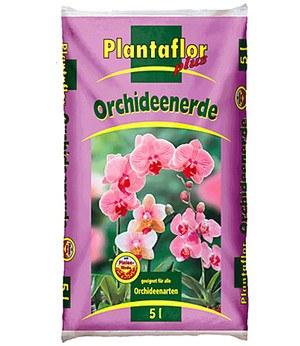 Plantaflor PLANTAFLOR Orchideen-Erde 5 Liter,1 Sack