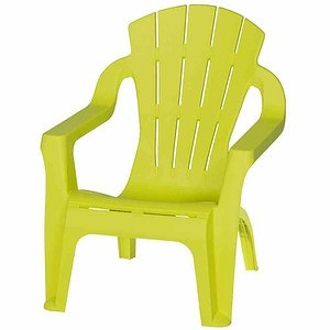 PROGARDEN Kinder-Deckchair, lime green, Mini-Selva