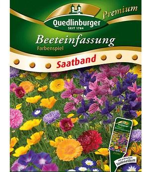Quedlinburger Beeteinfassung Farbenspiel Saatband,6 Meter