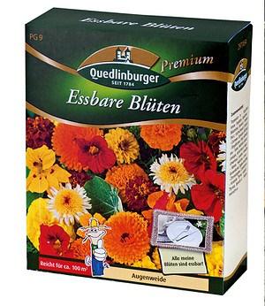 Quedlinburger Essbare Blüten,1 Pack.
