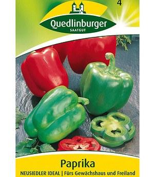 "Quedlinburger Paprika ""Neusiedler Ideal"",1 Portion"