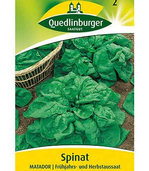 "Quedlinburger Spinat ""Matador"",1 Portion"