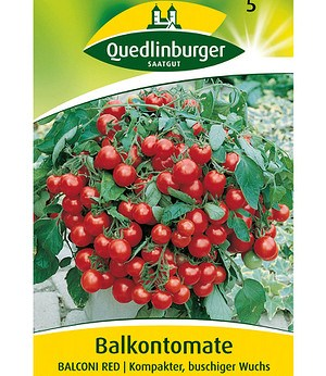 "Quedlinburger Tomate ""Balconi Red"",1 Portion"