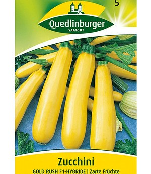 "Quedlinburger Zucchini ""Goldrush"" F1,1 Portion"