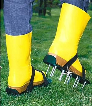 Rasenlüfter-Schuhe,1 Paar