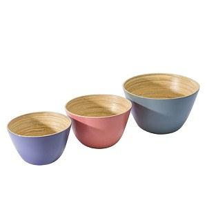 Schalen-Set, 3-tlg. Candy Bamboo