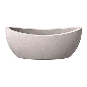 SCHEURICH Jardiniere, taupe granit