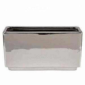 SCHEURICH Pflanzgefäß Mirror Silver Schale
