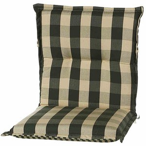 SCHWIENHORST Auflage Kent für Sessel niedrig 100x50x9 cm, grün, 100% Polyacryl