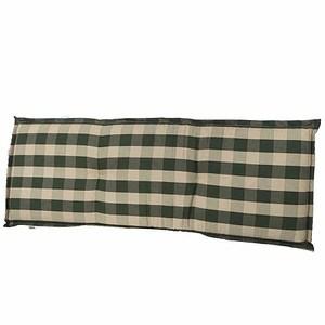 SCHWIENHORST Bankauflage Kent 140x47x8 cm,grün, 100% Polyacryl