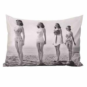 SCHWIENHORST Zierkissen Girls 40x60cm, 100% Polyester