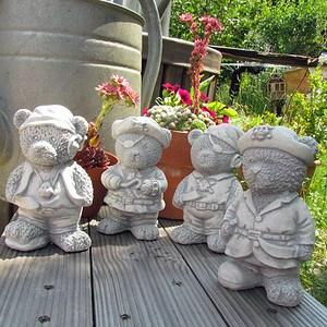 Seeräuberbande 4er Set Piraten Teddy