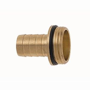 "SIENA GARDEN 1/3 Verschraubung m.Wulst u.O-Ring-Dichtung 32mm (1 1/4""), Messing"