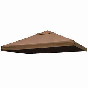 SIENA GARDEN Dach Bezug zu Pavillon Toronto, mocca, 100% Polyester, PU-beschichtet
