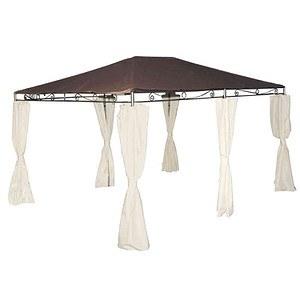 SIENA GARDEN Dach Bezug zu Pavillon Tosca 3x4 m, mocca 100% PL, PU-beschichtet