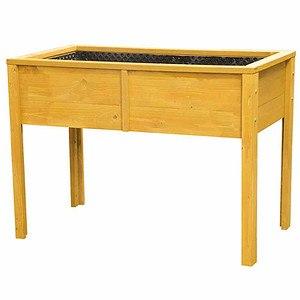 SIENA GARDEN Hochbeet Fichte, Maße: 110x60x80 cm mit Beinen, lasiert
