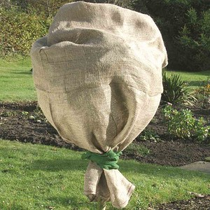 SIENA GARDEN Jute-Schutzsack, Farbe: grün,Maße: 100x110cm 100x110cm