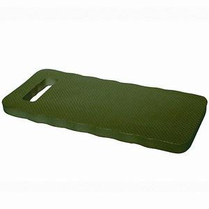 SIENA GARDEN Kniekissen aus Hartschaum, Maße: 39x17x1,9cm, Farbe: grün