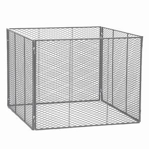 SIENA GARDEN Komposter 1000x1000x800, feuerverzinkt, aus Streckmetall, 4tei
