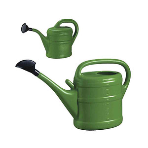 SIENA GARDEN Kunstoff-Gießkanne 10l grün