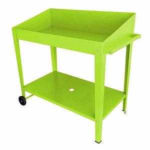 SIENA GARDEN Pflanztisch grün, 100x55x101cm