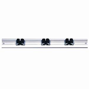 SIENA GARDEN Prax-Gerätehalterschiene mit 3Haltern, 3 Halter, Vario 3   SB