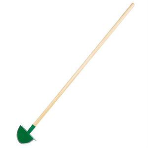 SIENA GARDEN Rasenkantenstecher mit Stiel, 21cm, grün pulverbschichtet
