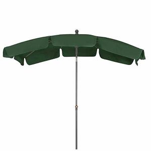 SIENA GARDEN Schirm Tropico 2,1x1,4 m, eckig, grün, Gestell anthrazit / Polyester