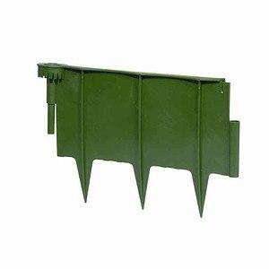 SIENA GARDEN Schneckenschutzzaun aus Kunststoff, 4-teilig, Farbe: grün