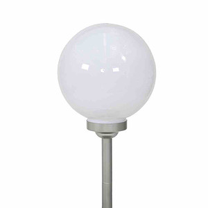 SIENA GARDEN Solar-Leuchtkugel Ø30cm, Kunststoff,, 4 LED, Ø30x66,5cm, kartonverpack
