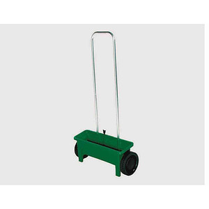 SIENA GARDEN Streuwagen 12l mit Streutabelle, Farbe: grün
