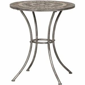 SIENA GARDEN Tisch Felina rund Ø 70 cm, Eisen mit Mosaikoptik