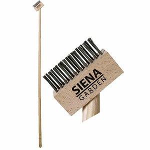 SIENA GARDEN Unkraut Fugenbürste aus Stahl mit Stiel 1400 x 28mm