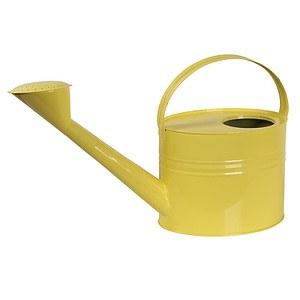 SIENA GARDEN Zinkgießkanne 7l, Stahlblech gelb