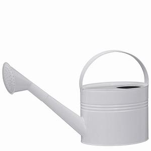 SIENA GARDEN Zinkgießkanne 7l, Stahlblech weiß
