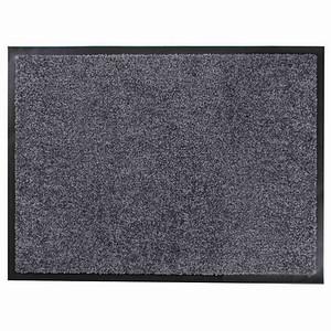 "SIENA HOME Fußmatte ""Twine"" 60 x 80 cm grau"
