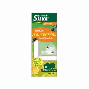 SILVA Fensterfliegenfalle, transparant, 6 Stück