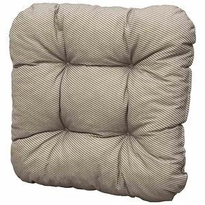 SUN GARDEN Sitzkissen Susa, Dessin 50310-620, taupe, Bezug Baumwolle / Polyester