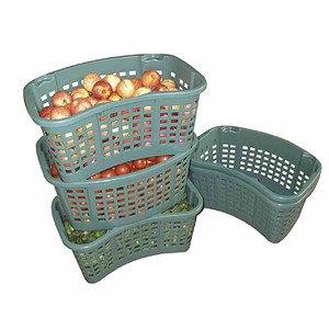 TETEROWER KUNSTSTOFF Drehstapelbehälter 35L, grün (lebensmittelecht)