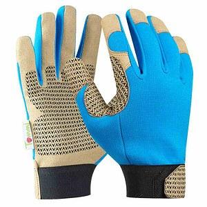 TOMMI Handschuh Tommi Haselnuss GrL, blau, blau