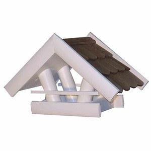 Vogelhaus Feldsperling, weiß Maße: 36x22x20cm