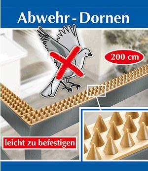 WENKO Abwehr-Dornen 200cm,1 Pack.