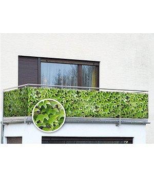 WENKO Balkon-Sichtschutz Wilder Wein,5 m