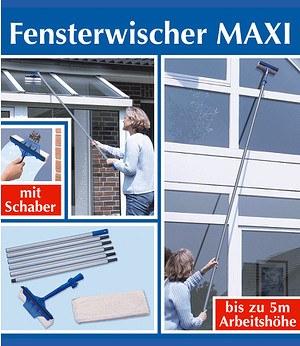 """WENKO Ersatzbezug für Fensterwischer """"MAXI"""" 2er-Set,1 Stück"""