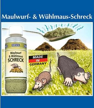 WENKO Maulwurf- & Wühlmaus-Schreck,1 Pack.